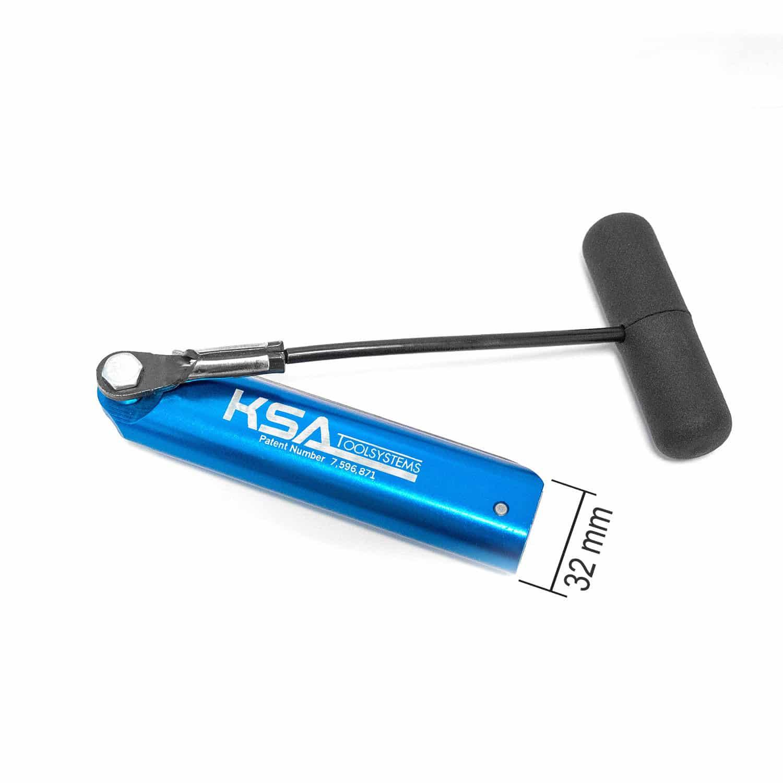 Ziehmesser, Kaltschneidemesser mit Ziehgriff 32 mm