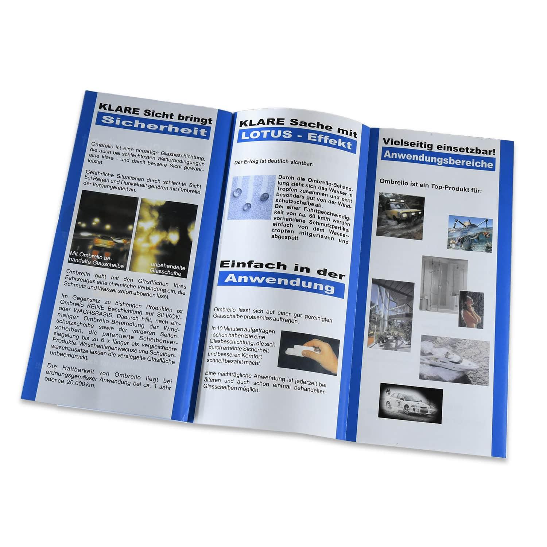 Ombrello Info Broschüre