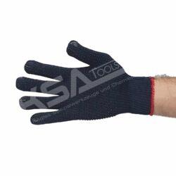 Blue Dottie Schutzhandschuh, Strickhandschuh