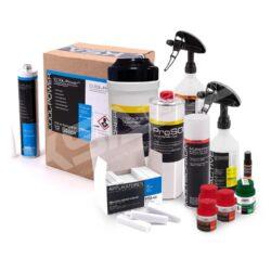 Autoglas Chemiepaket Starterpaket mit Cool Power Scheibenklebstoff
