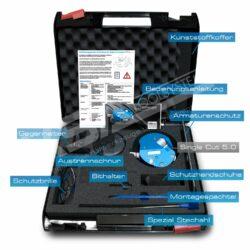 Single Cut System 5.0 im Koffer