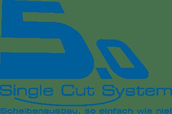 Single Cut System 5.0 Logo blau