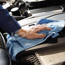 Motorpflege Microfasertuch