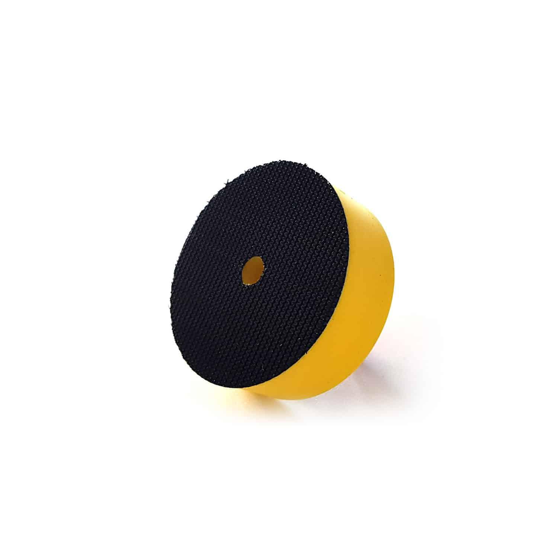"""2"""" Polierteller - 5 cm Durchmesser zur Aufnahme von 2"""" Polierscheiben für Kratzerbeseitigung - mit Klettrücken und Aufnahmegewinde"""