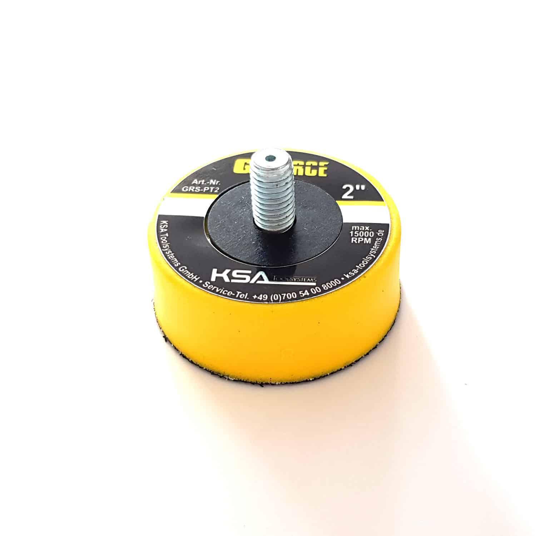 """2"""" Polierteller - 5 cm Durchmesser zur Aufnahme von 2"""" Polierscheiben für Kratzerbeseitigung"""