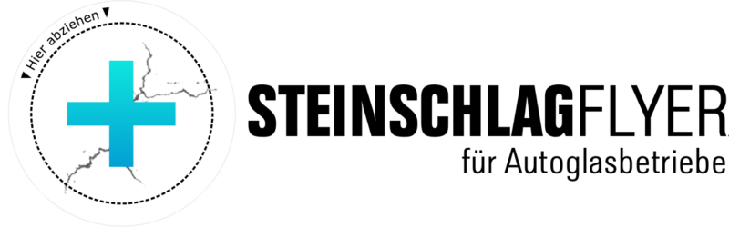 Individuelle Steinschlagflyer Mit Pflaster Im Visitenkarten