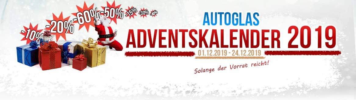 Autoglas Adventskalender