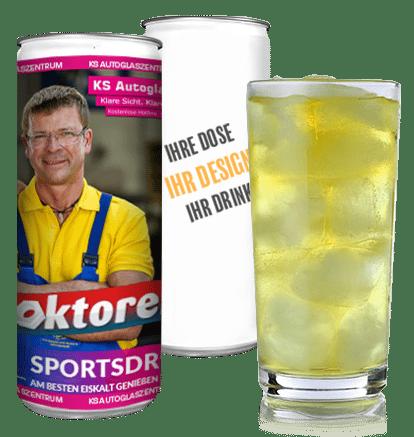 Eigene Iso-Drink dosen